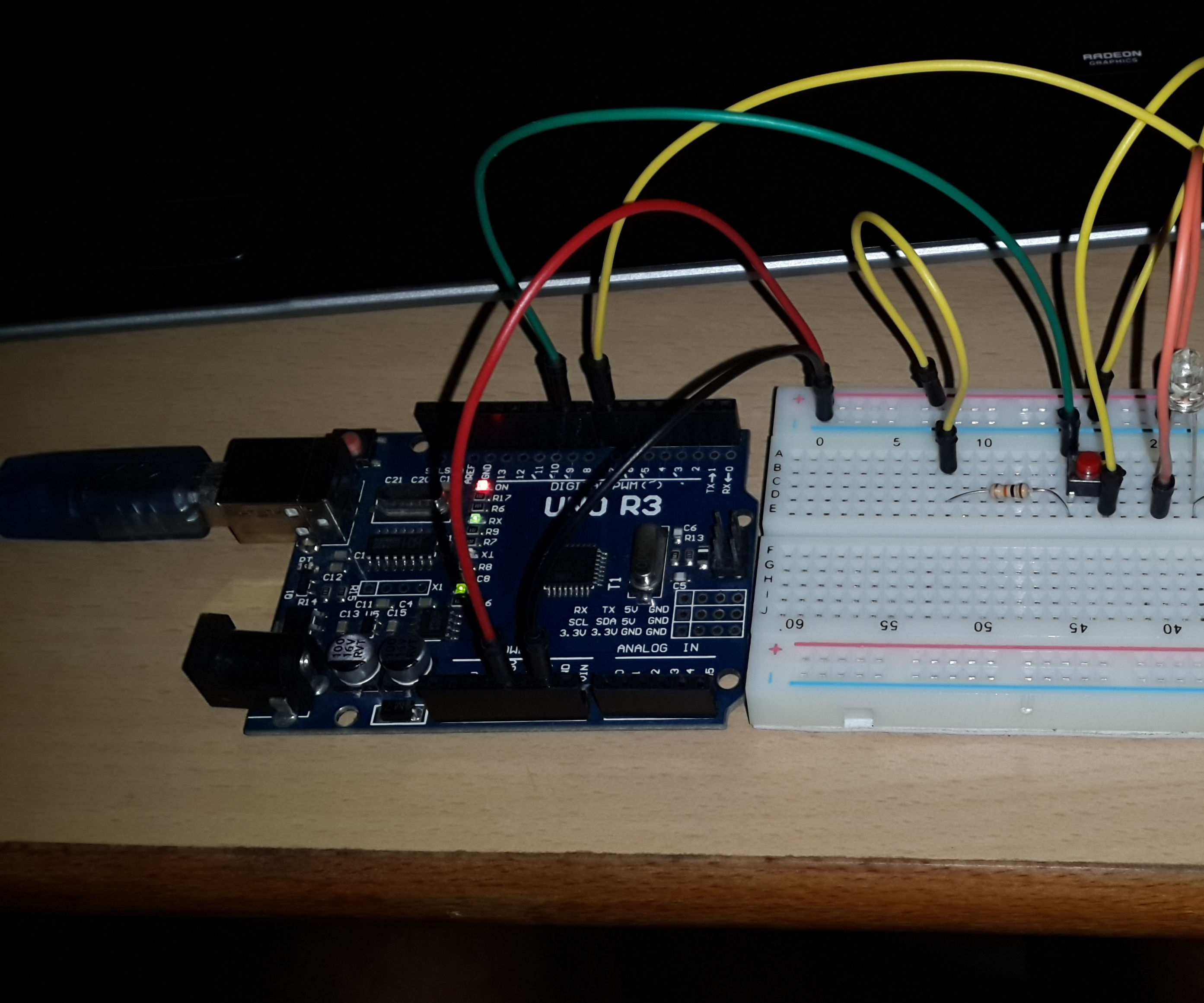 Arduino and micro switch