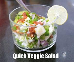 快速素食沙拉 - 谁饿了