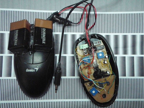 Mouse to Optical Sinth Conversion.