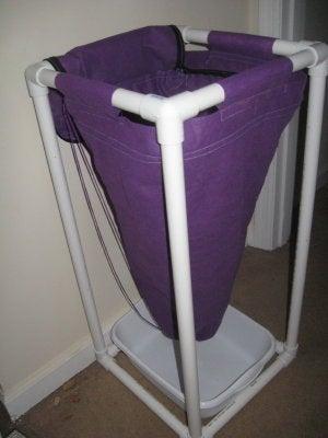 How I Turned a Laundry Bag Into a Flow Through Worm Bag