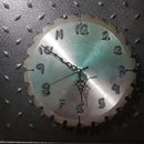 Table Saw Blade Clock / Reloj De Sierra Circular