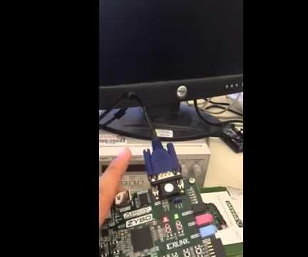 Outputting GIF on VGA From SD Card Using Zybo Board
