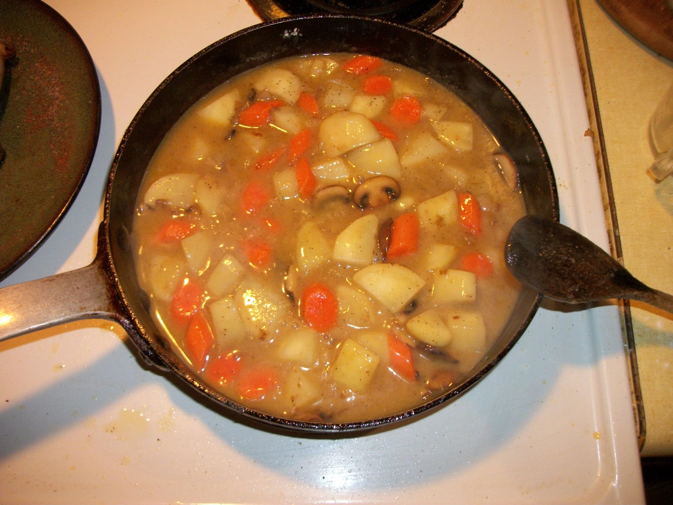 Add Flour and Stock