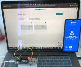 MKR1000 - Arduino IoT Cloud - IFTT Phone Call