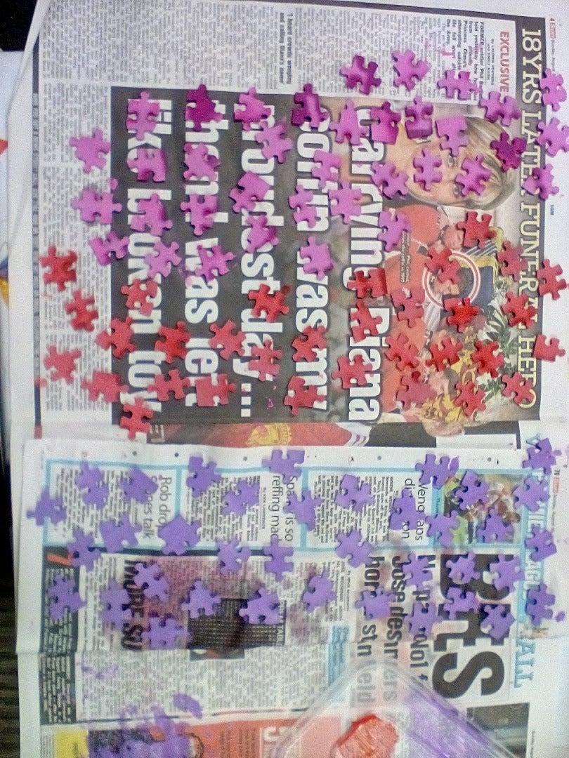 Paint Your Jigsaw Puzzle Pieces