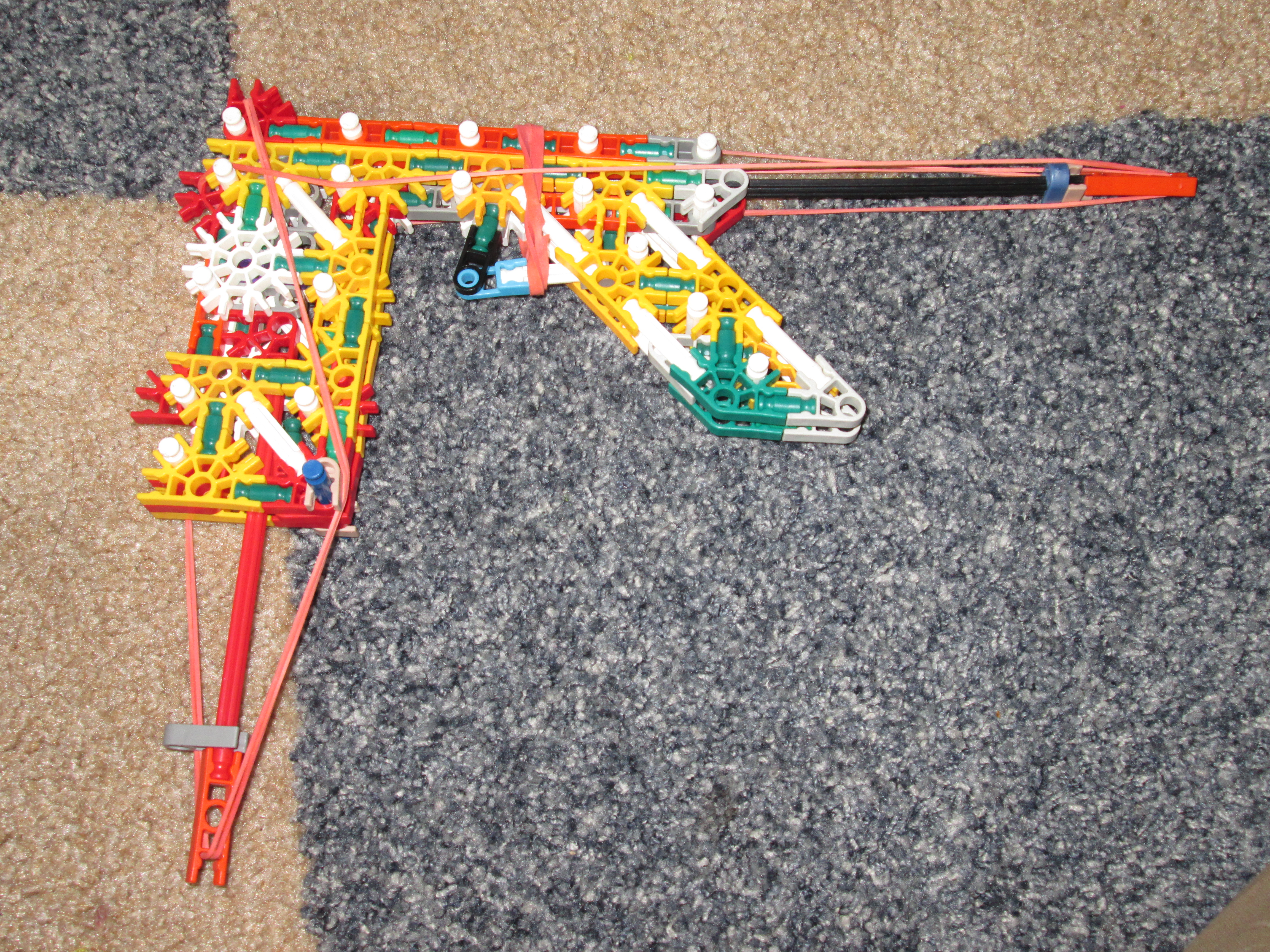 compact knex gun with mag