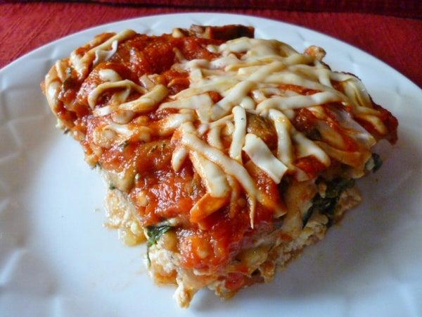 SPRING ROLL SKIN Lasagna--Vegan & GF Bonus Hands Free Garlic Peeling Video