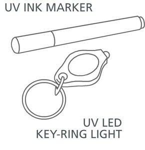 Get a Cheap UV Marker and Key Ring LED Set