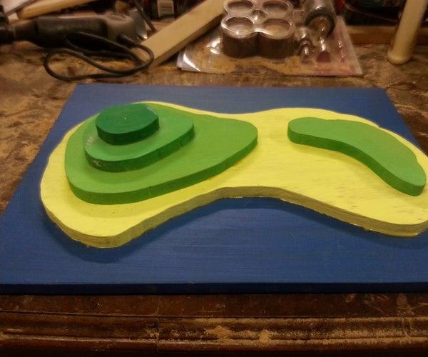 3D Island Model