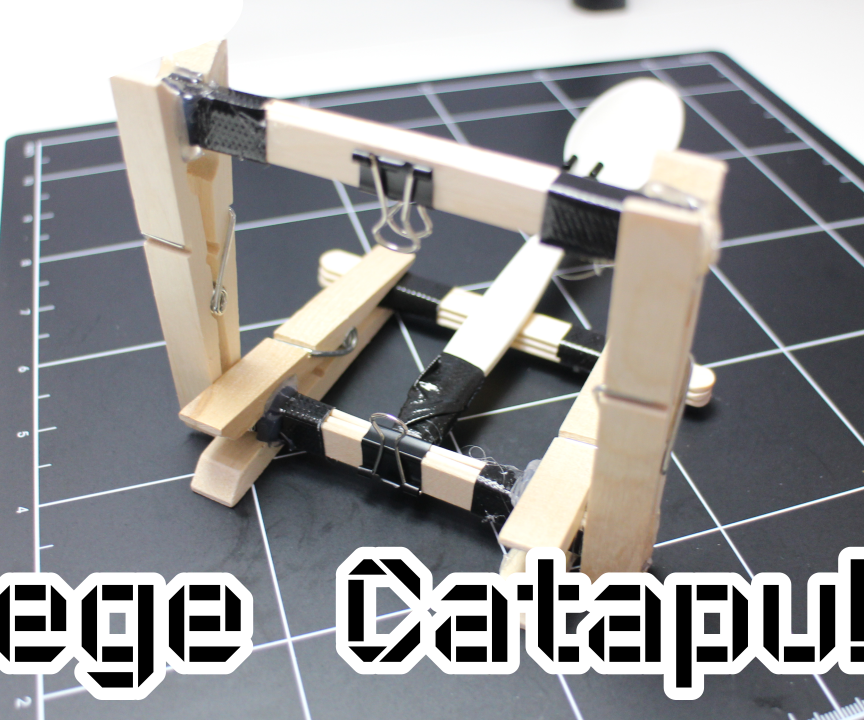 Mini Siege Catapult