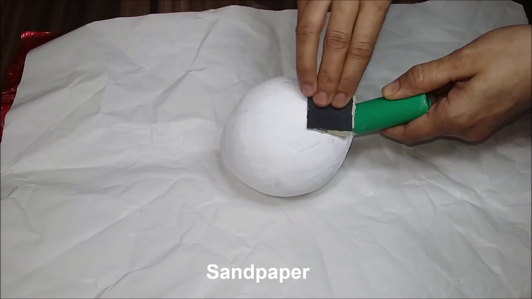 Use Plaster of Paris & Patching Plaster