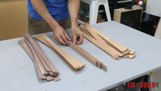 Mill the Strips for Lamination