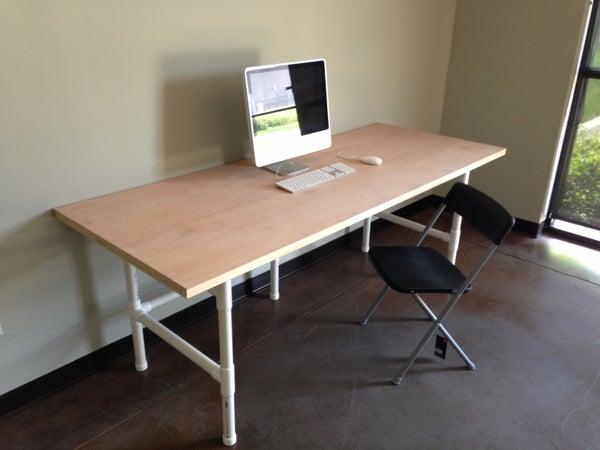 The $74 PVC Mega Awesome Super PVC Table
