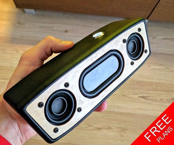 Portable Bluetooth Speaker (FREE PLANS)