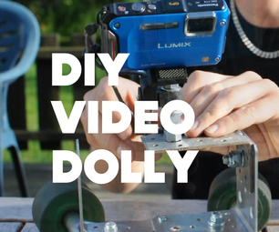 Simple DIY Video Dolly on a Budget