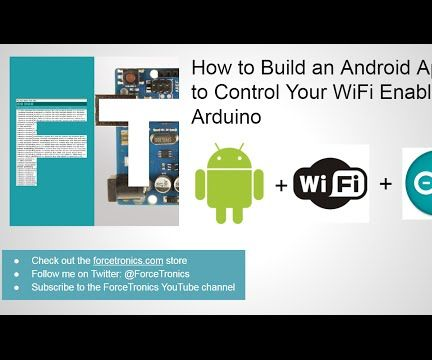 Create a Simple Android App to Control Your Arduino Over WiFi