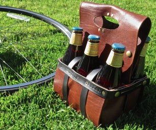Leather Beer & Wine Carrier