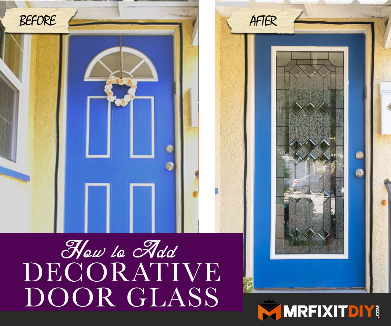 Adding Glass to Your Front Door