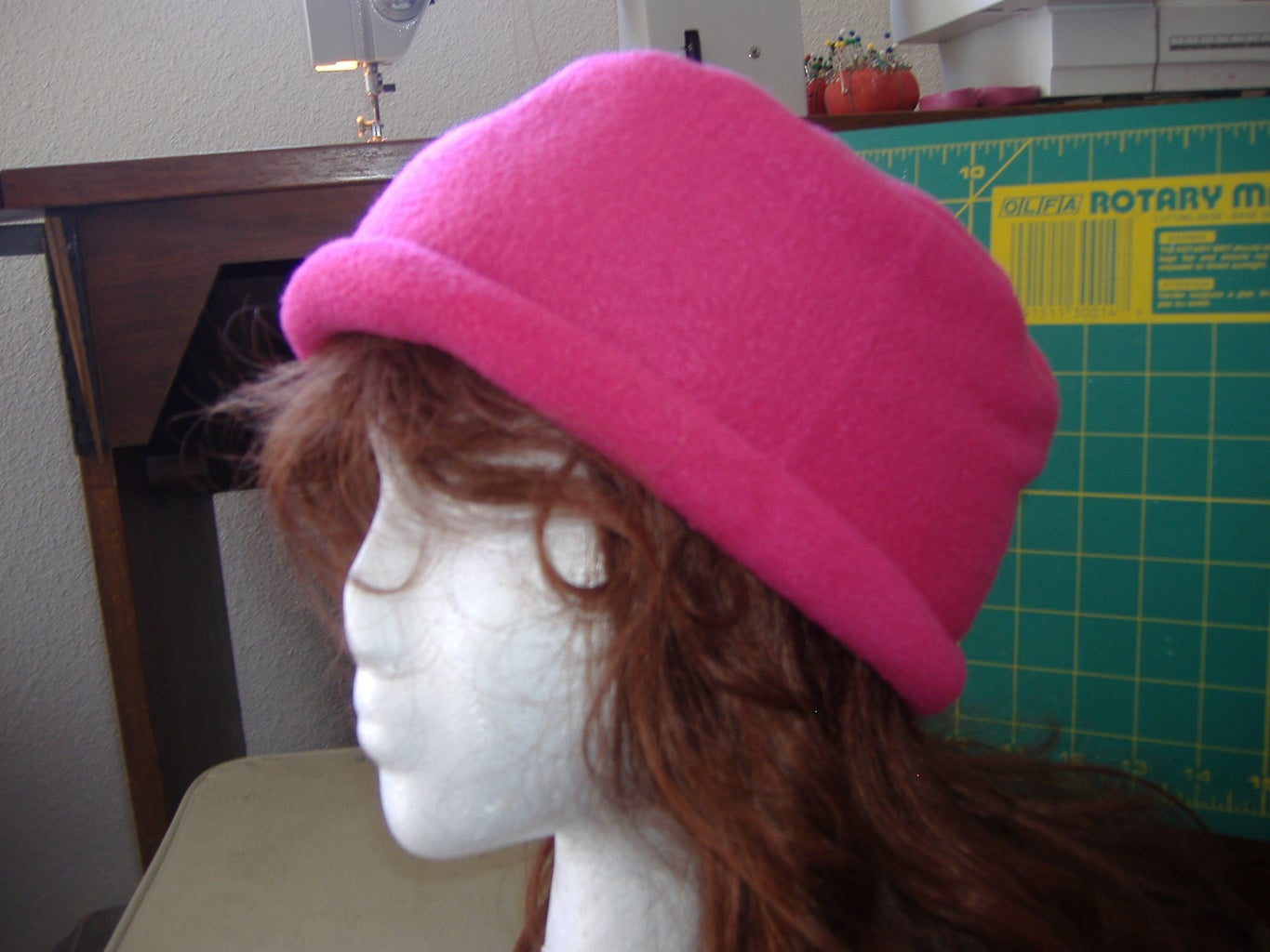 Sewing the Hat