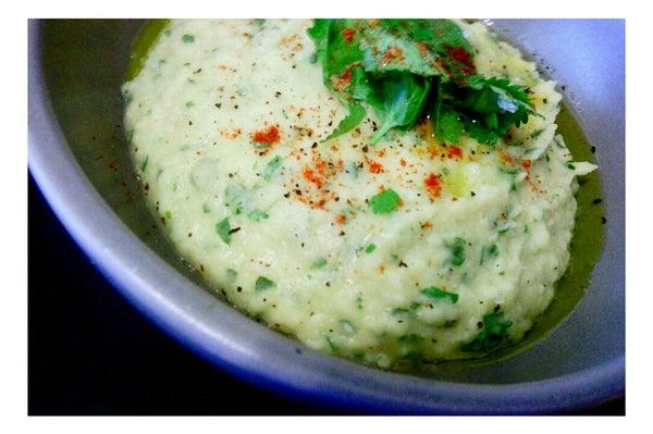Spicy Cilantro White Bean Hummus