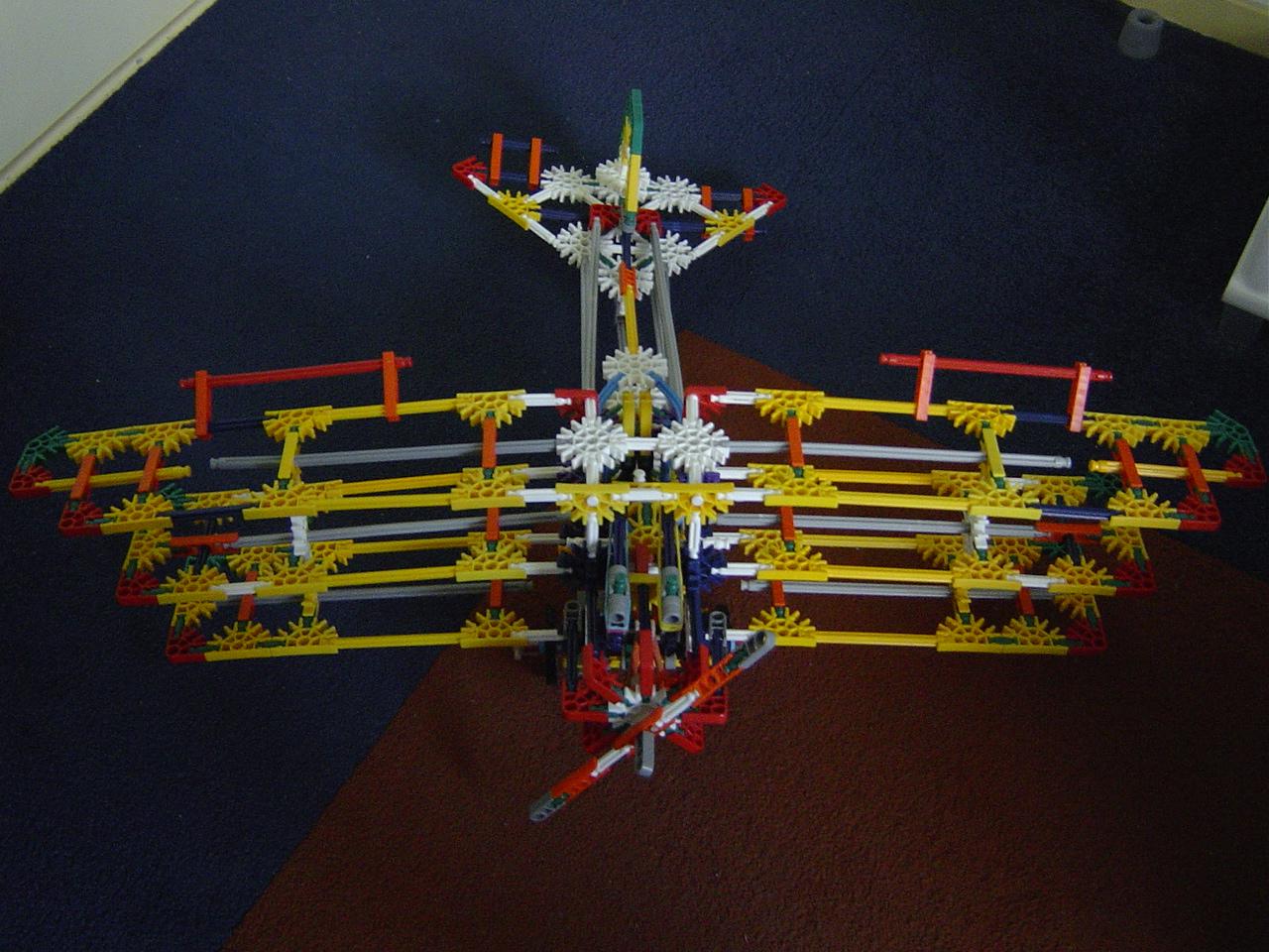 Knex fokker dr 1 (knex plane)