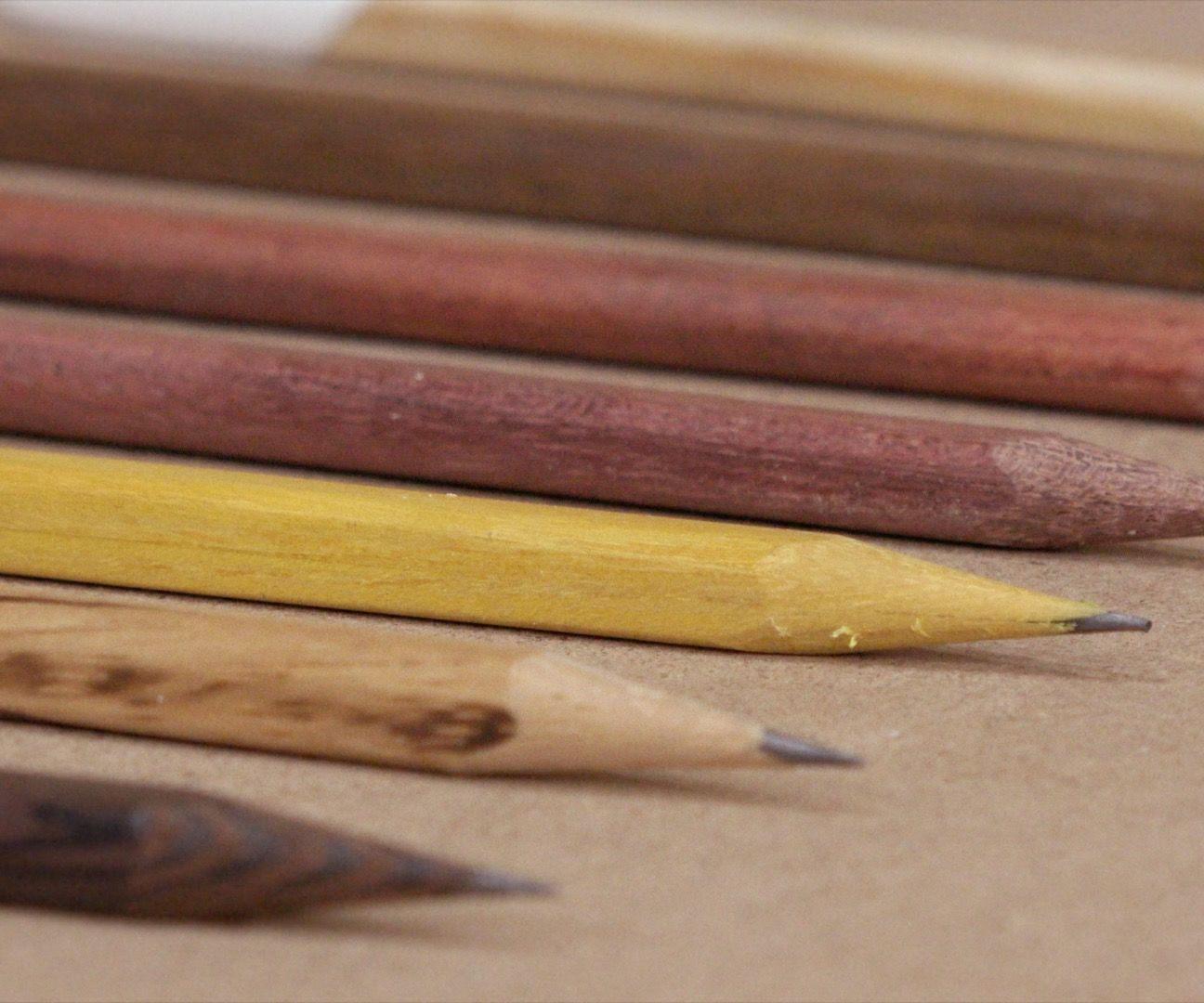 Make Wooden Pencils