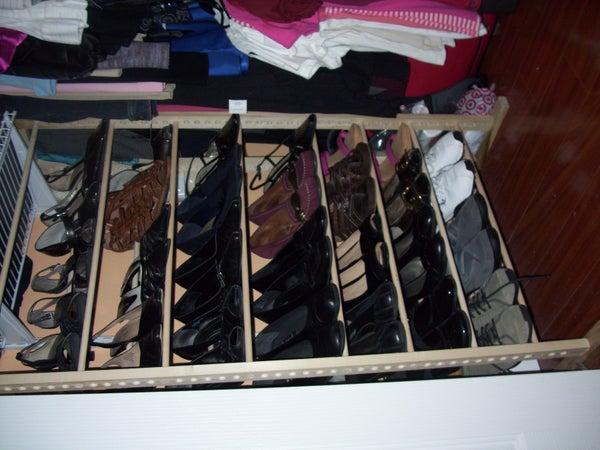 My Vertical Shoe Rack