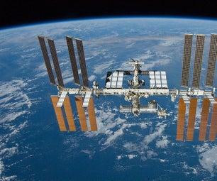 ISS Above on Lcd(i2c) Raspberry Pi