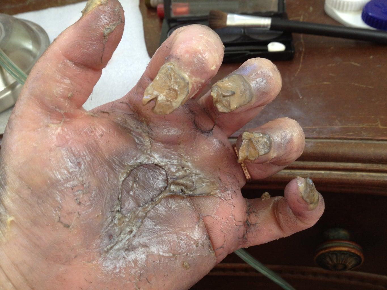 Make Your Hand Gross!