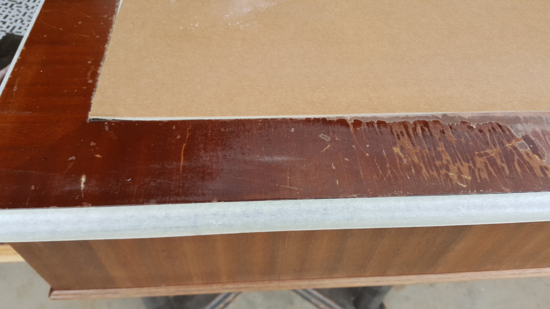 Remove All the Old Varnish and Stain