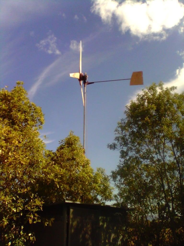 Finished Wind Turbine