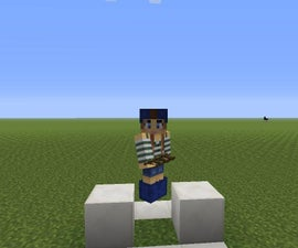 Minecraft Hack: How to Make a Invisible Block