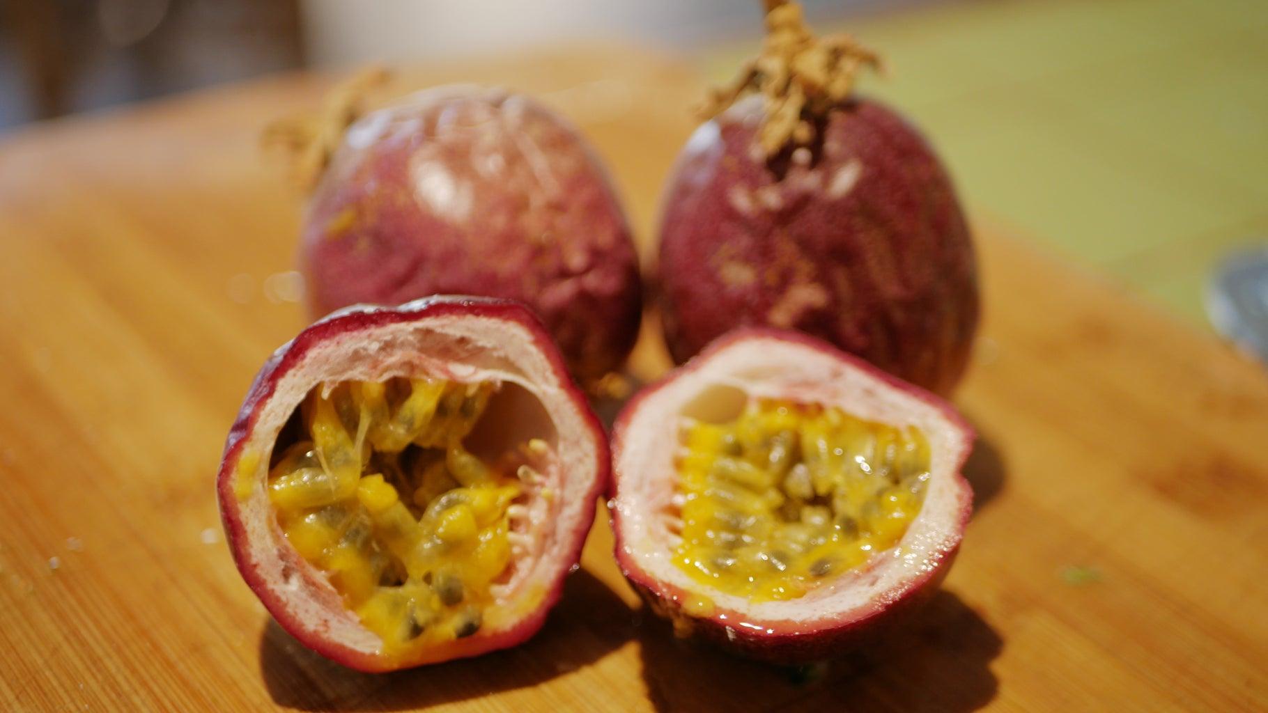 Prepare Passionfruit Pulp