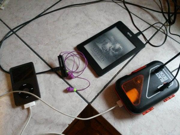 USB Charging Box