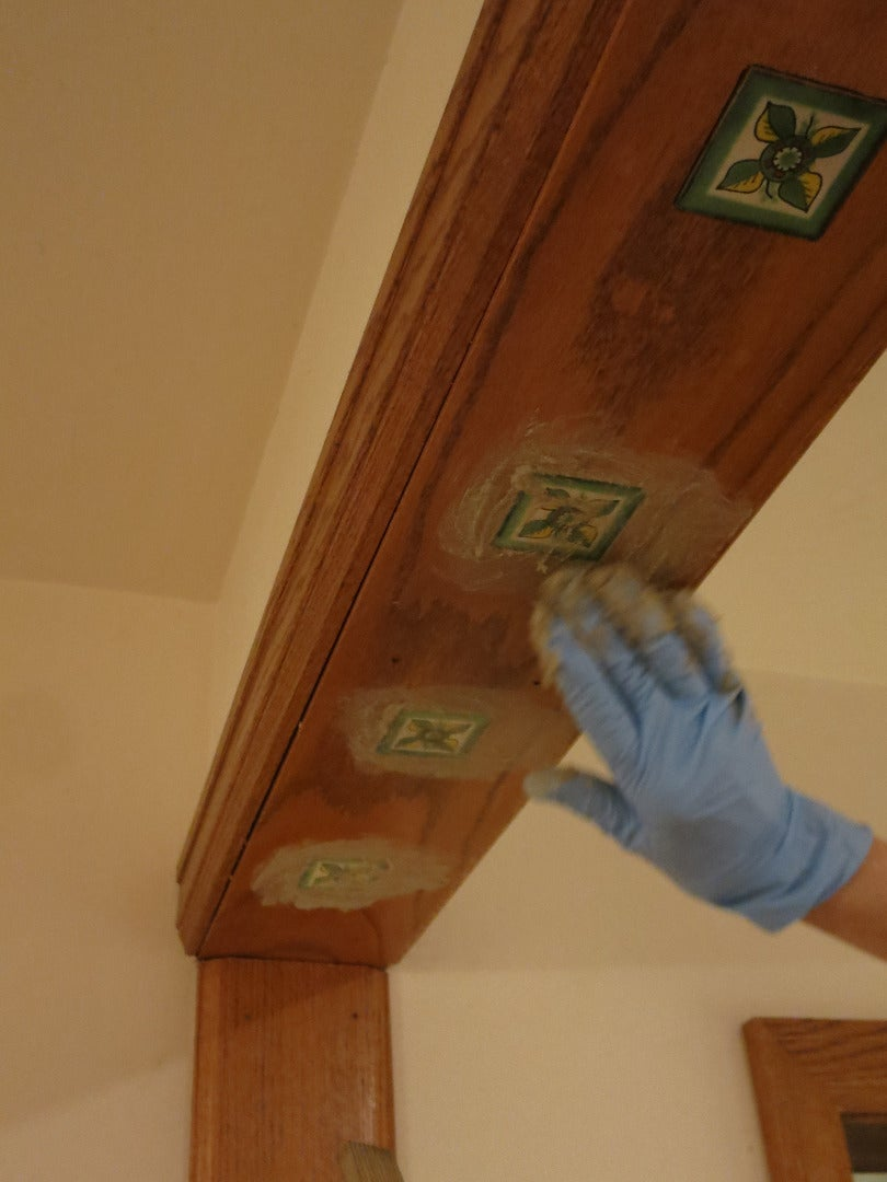 Installing the Decorative Tiles