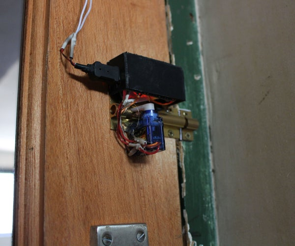 Bluetooth Door Lock (Arduino)