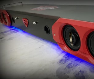 DIY Quad-driver Soundbar