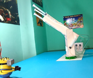 Hydraulic Arm That Shoots!
