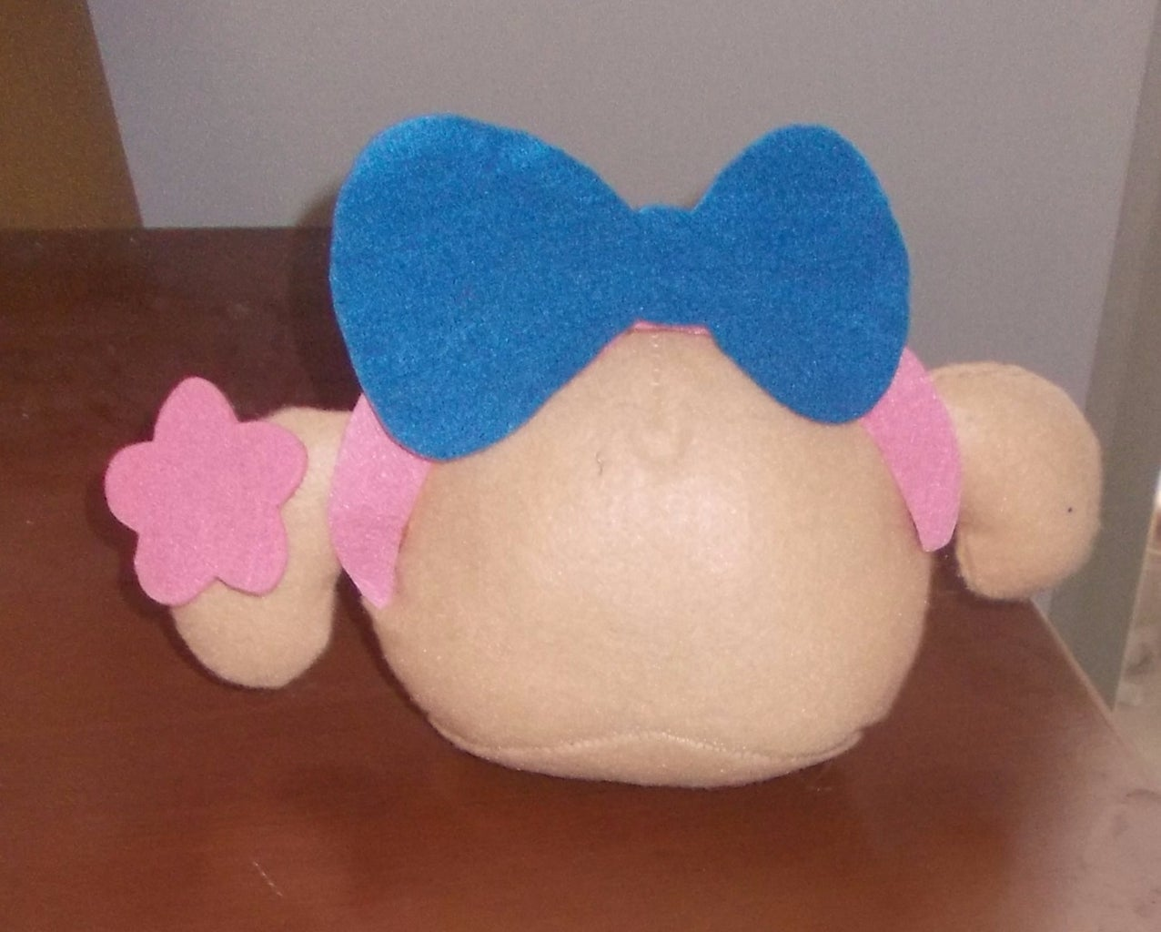 Cut Out the Bow and Sew It Up the Headband.