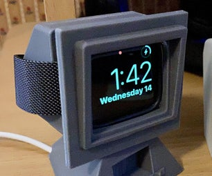 星际迷航苹果手表充电器底座