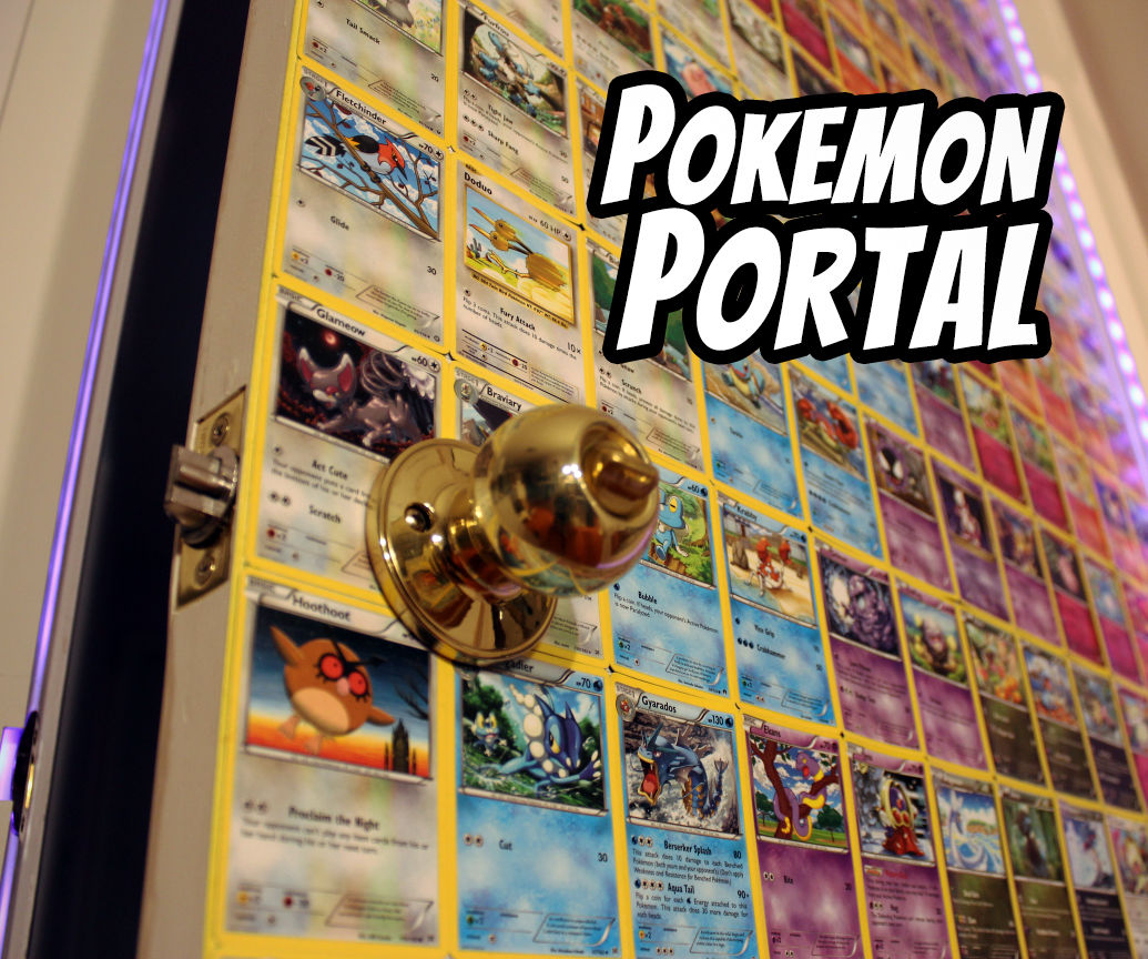 Pokemon Card Door