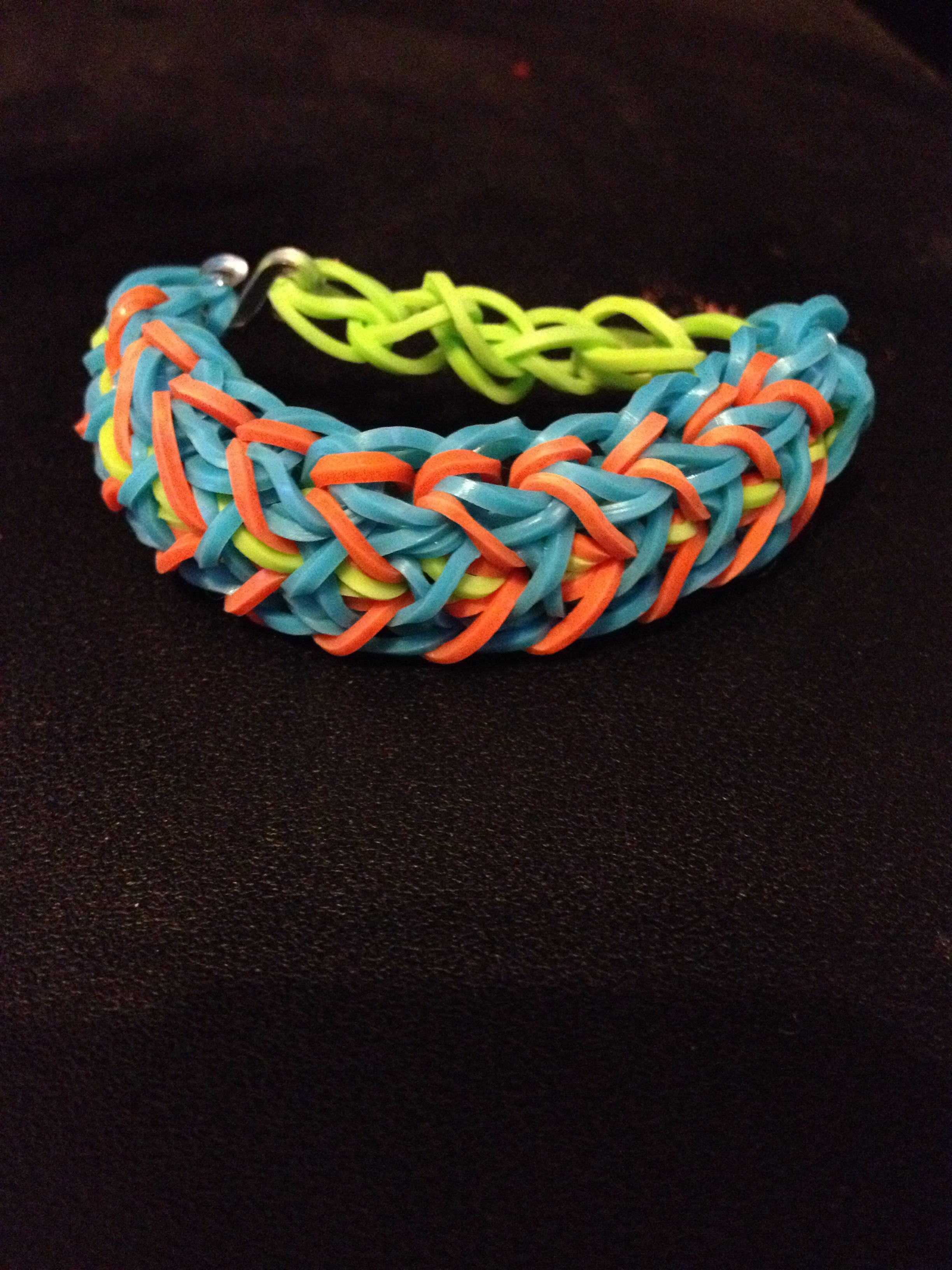 Rainbow Loom Bird Of Paradise Bracelet