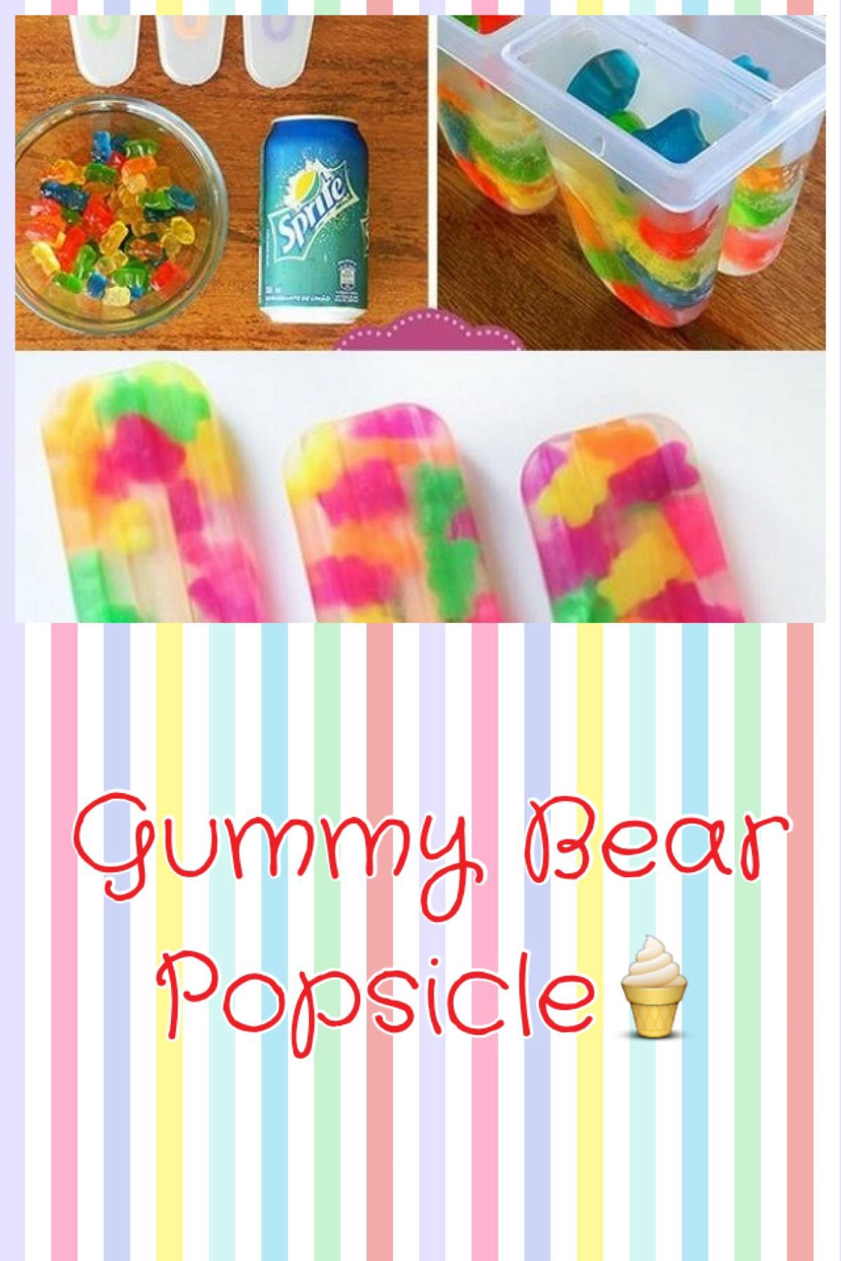 How To Make Gummy Bear Popsicles