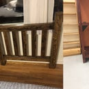 Upcycled Oak King Headboard