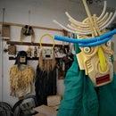 Ritual Masks From Trash