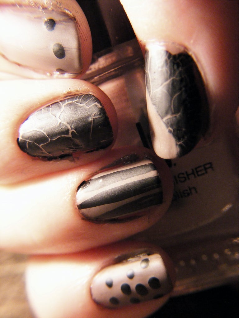 DIY Sassy Manicure