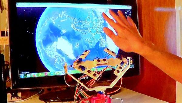 3D Contactless Mouse (Interactive 3D Position Sensor)