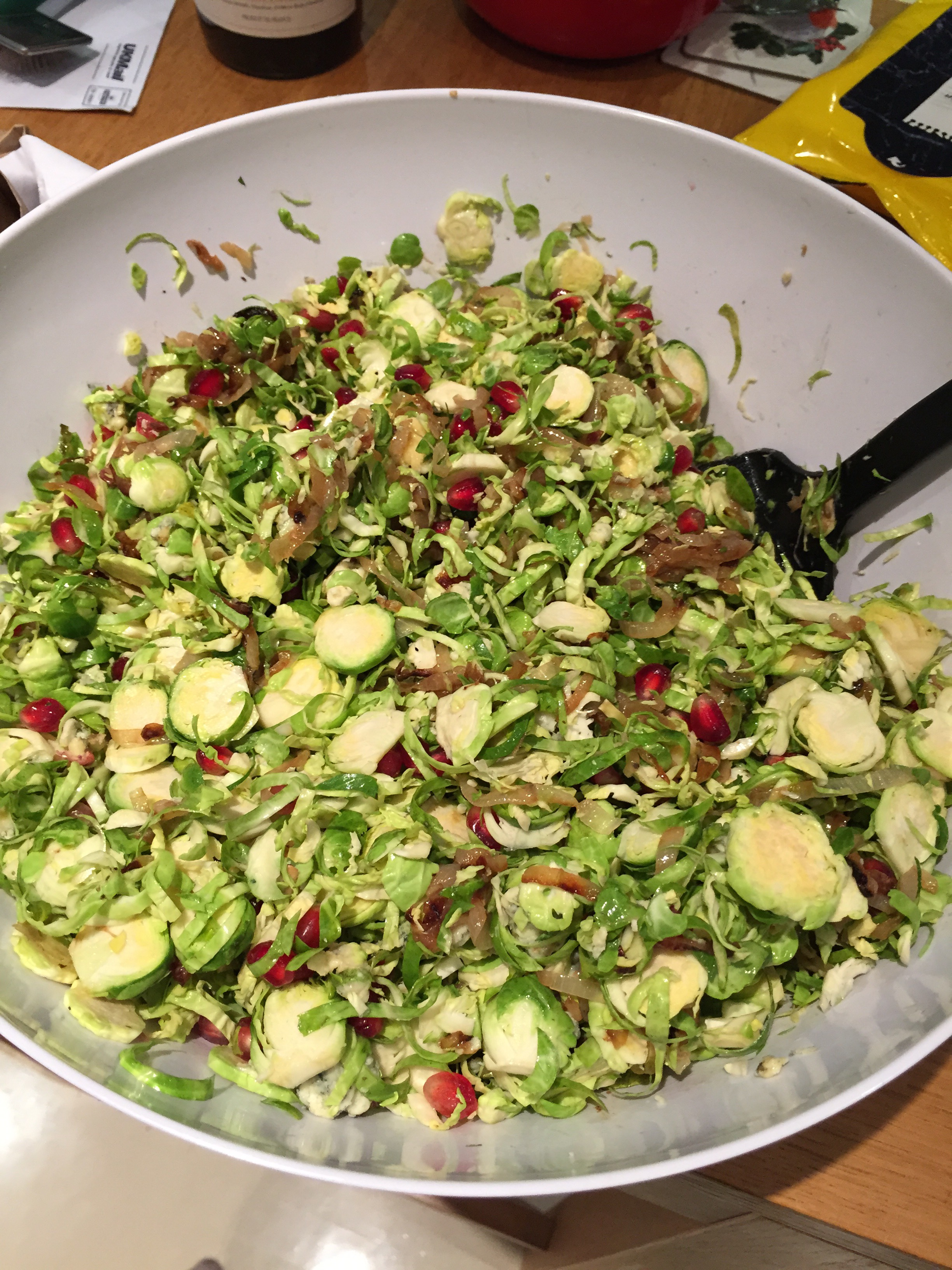 Thanksgiving Brussel Sprout Salad