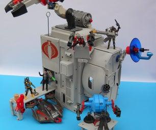 Cobra海军基地游戏集(用升高的塑料废物制成)