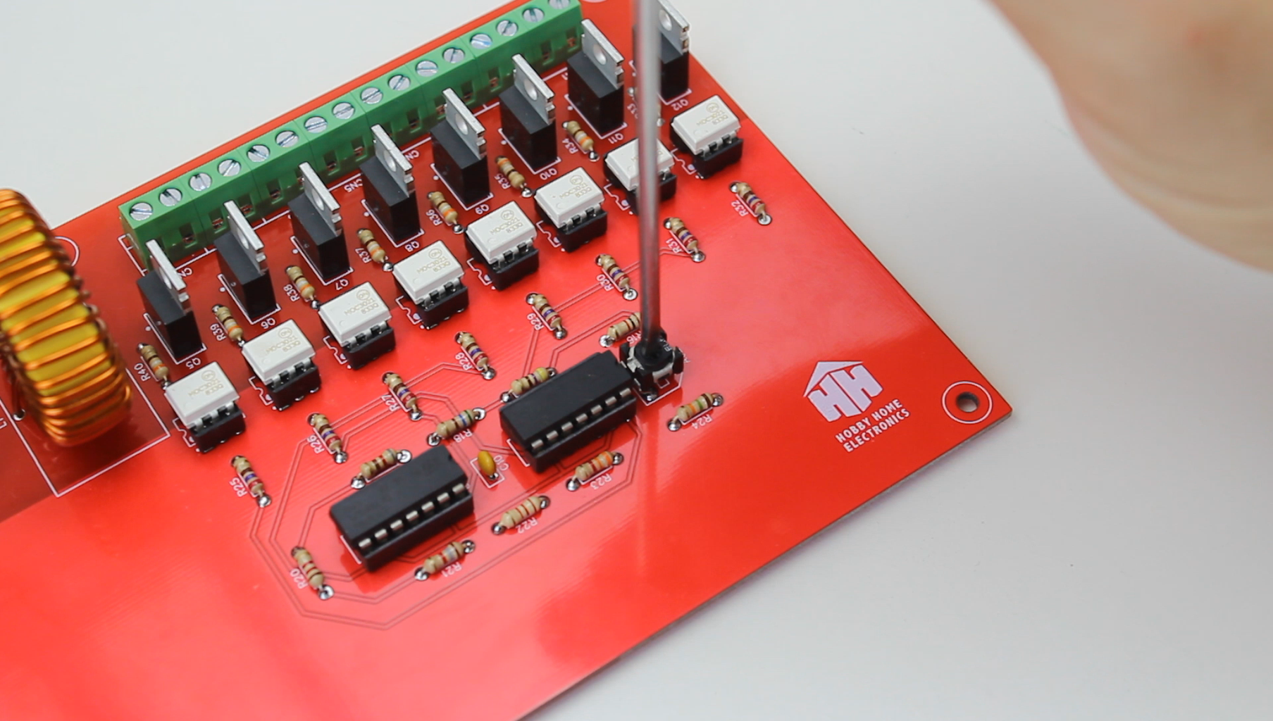 Configuration of the Circuit Control Board.